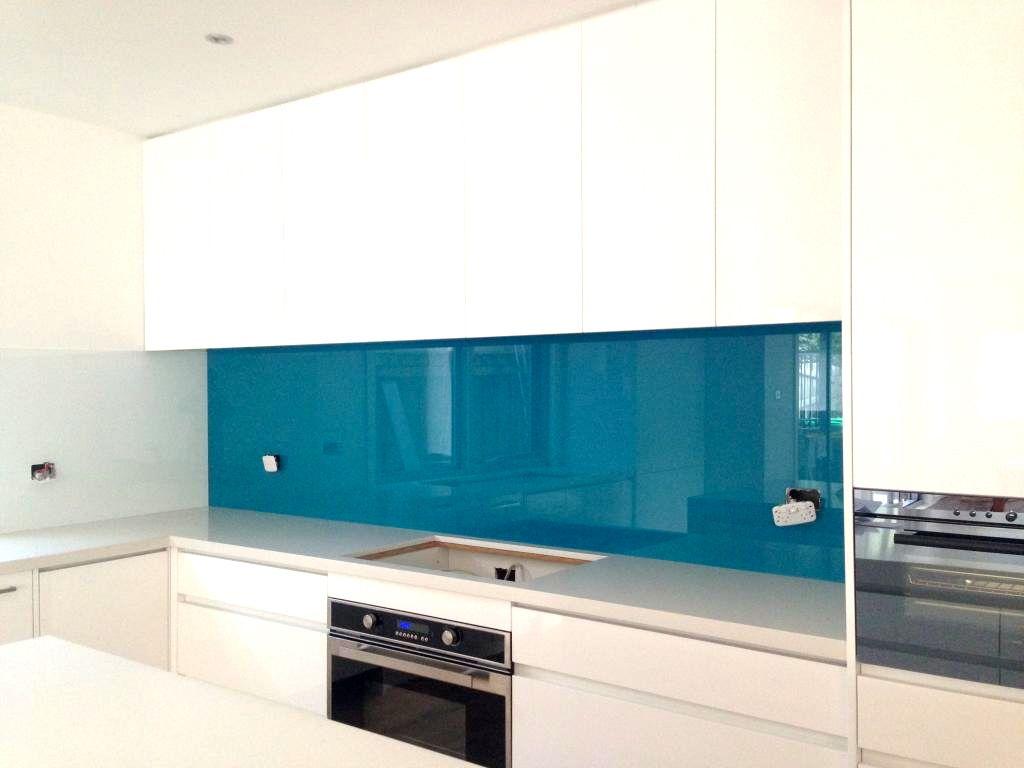 Stunning Blues On Glass Grand Turquoise A Product Of Ultimate Glass Splashbacks Tullamarine Glass Splashback Splashback Kitchen Splashback