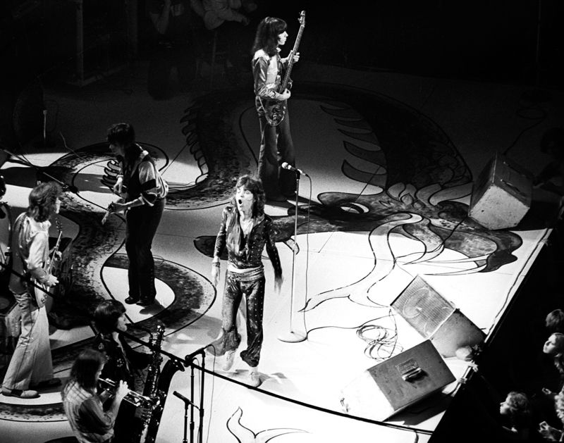 The Rolling Stones at Cobo Arena Detroit 1972