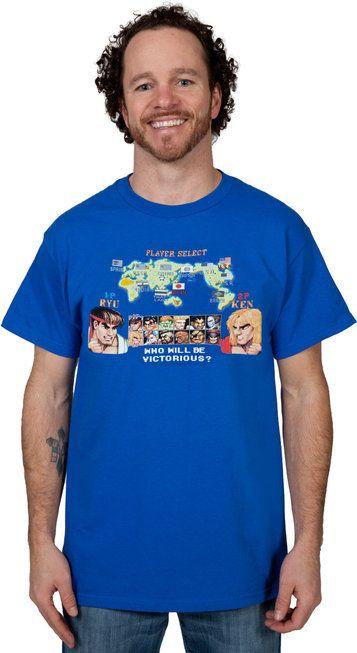 eee0f36a Ken Vs Ryu Street Fighter II T-Shirt   Secret Santa   Ryu street ...