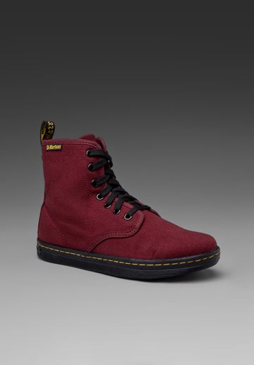 doc martens shoreditch | Sneakers, Red