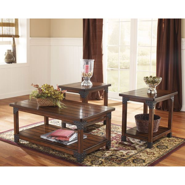 Shop For Signature Design By Ashley Murphy Table Set And Other Living Room 3 Pack Sets At Furniture Fair In Cincinnati Dayton OH Northern KY