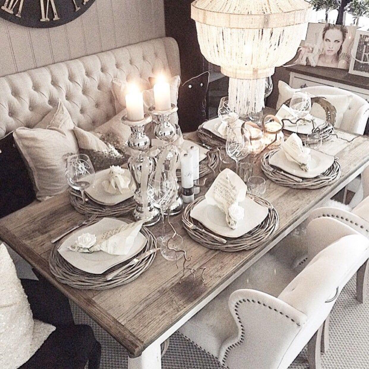 15 Ideas Of Elegant Dining Table Set: Staining Oak Table Sets