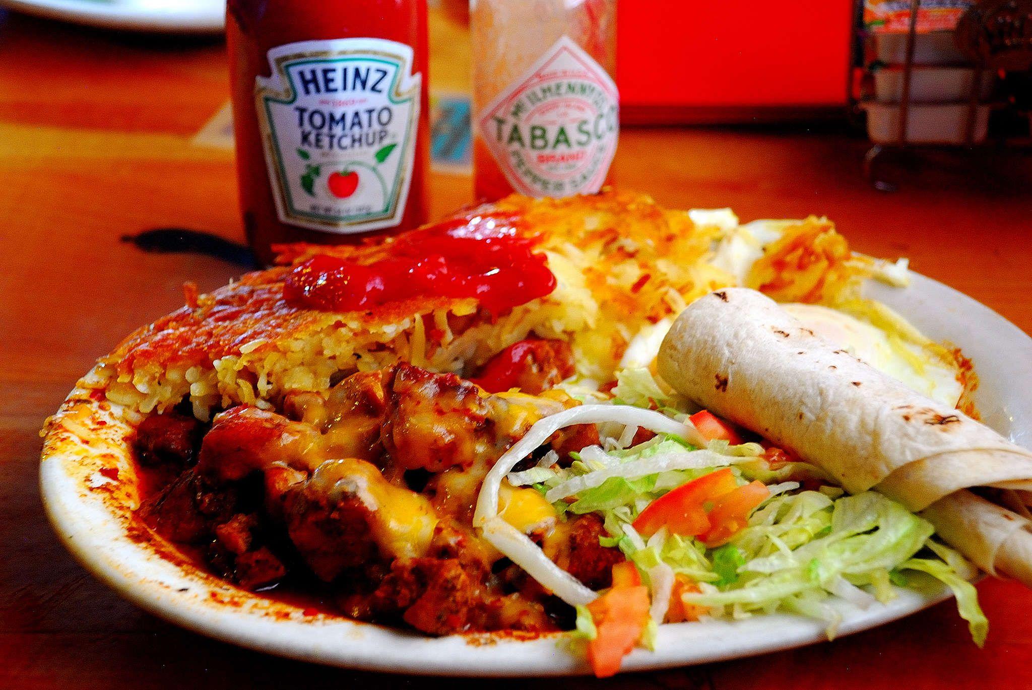 K I Diner Albuquerque S Travis Burrito Carne Adovada Diner Carne