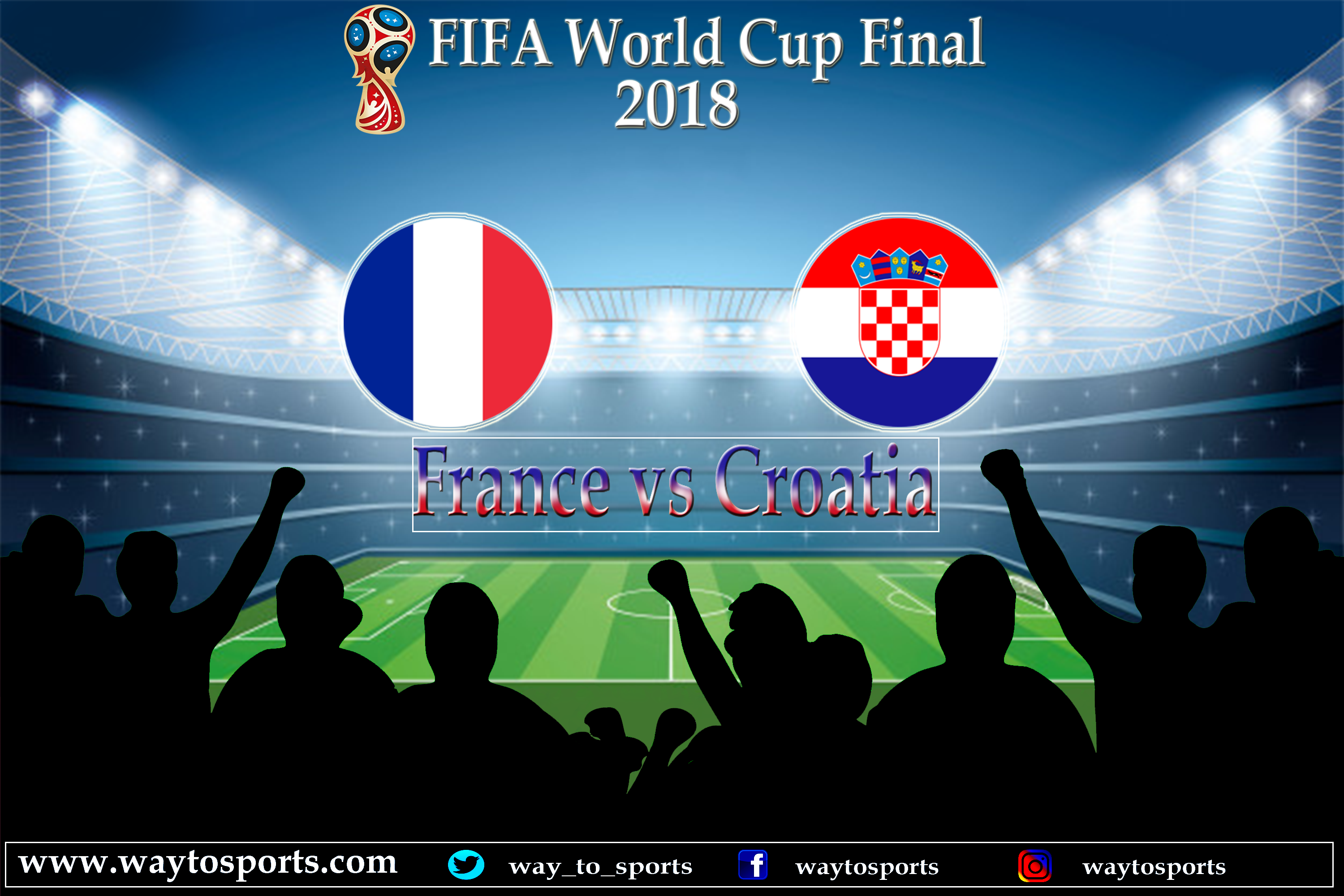 Who Will Be The Winner Of Fifa W Rld Cup 2018 Comment Below France Vs Croatia Fifa Fifaworldcup Worldcup World Cup Final 2018 France Vs Matches Today