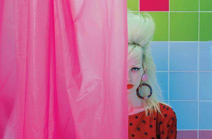 Lili Sumner by Miles Aldridge for Numéro #168 November 2015