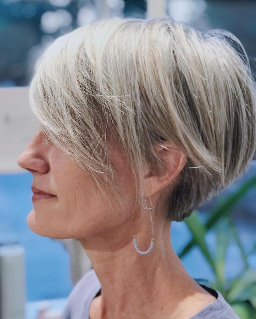 60 Gorgeous Gray Hair Styles Hair Styles Pinterest