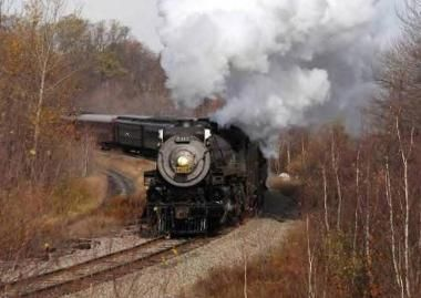 Train Tours, Steam Train