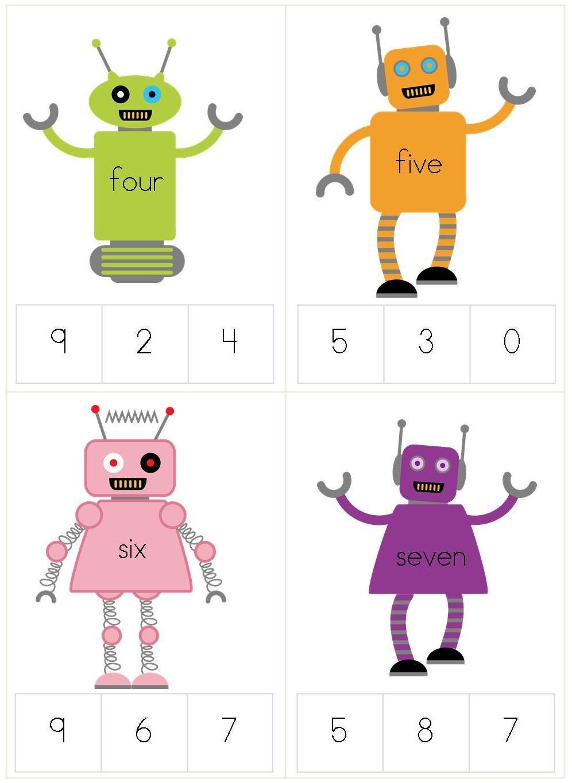 Robot Preschool Pack Robots Preschool Robot Classroom Preschool Themes [ 1365 x 996 Pixel ]