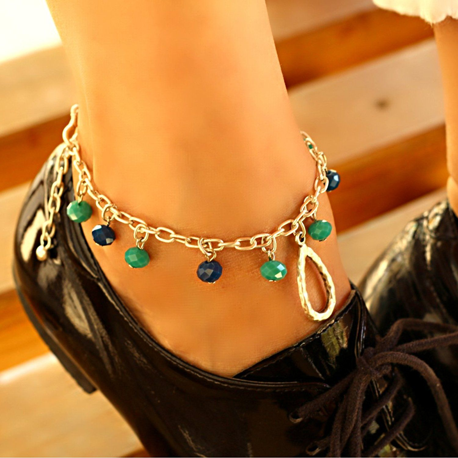 with shop bracelets chain at kendra cuff wear jewelry anklet scott adjustable gold ankle rose pin