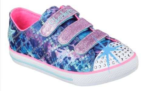 Skechers Twinkle Toes Shuffles Tie Dye Athletic Shoe Online