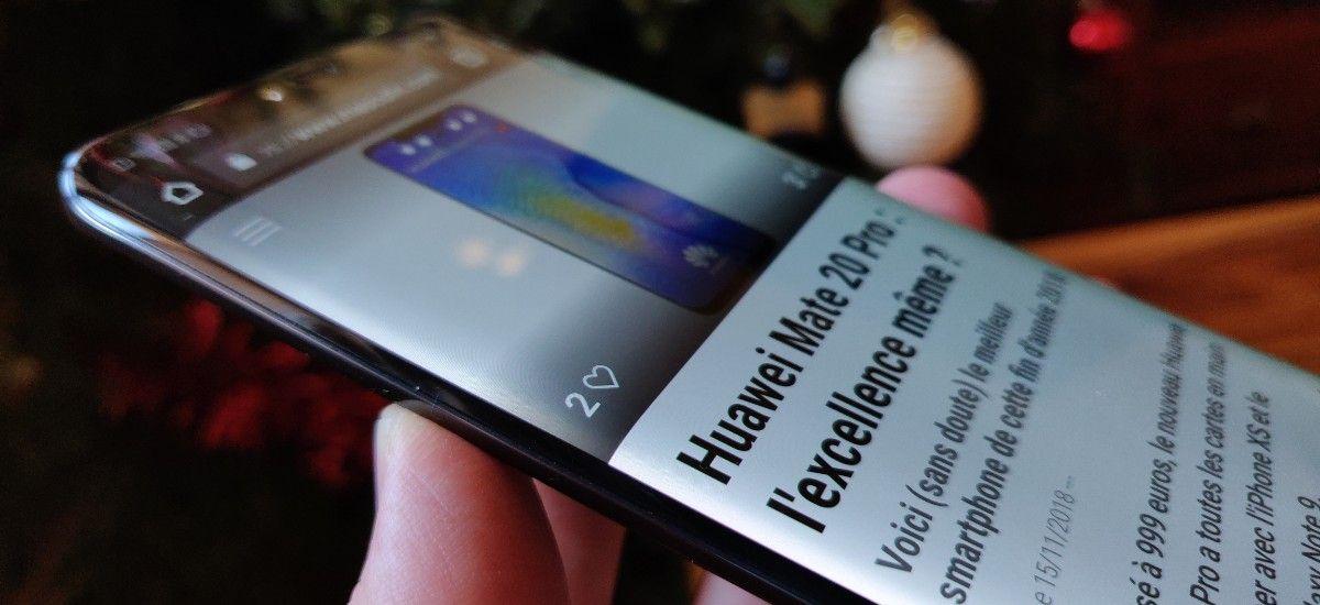 Test Avis Huawei Mate 20 Pro Le Roi Du Haut De Gamme C Est Lui Smartphone Iphone Pro A