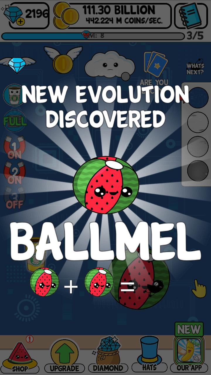 Watermelon Evolution fun kawaii game in App Stores