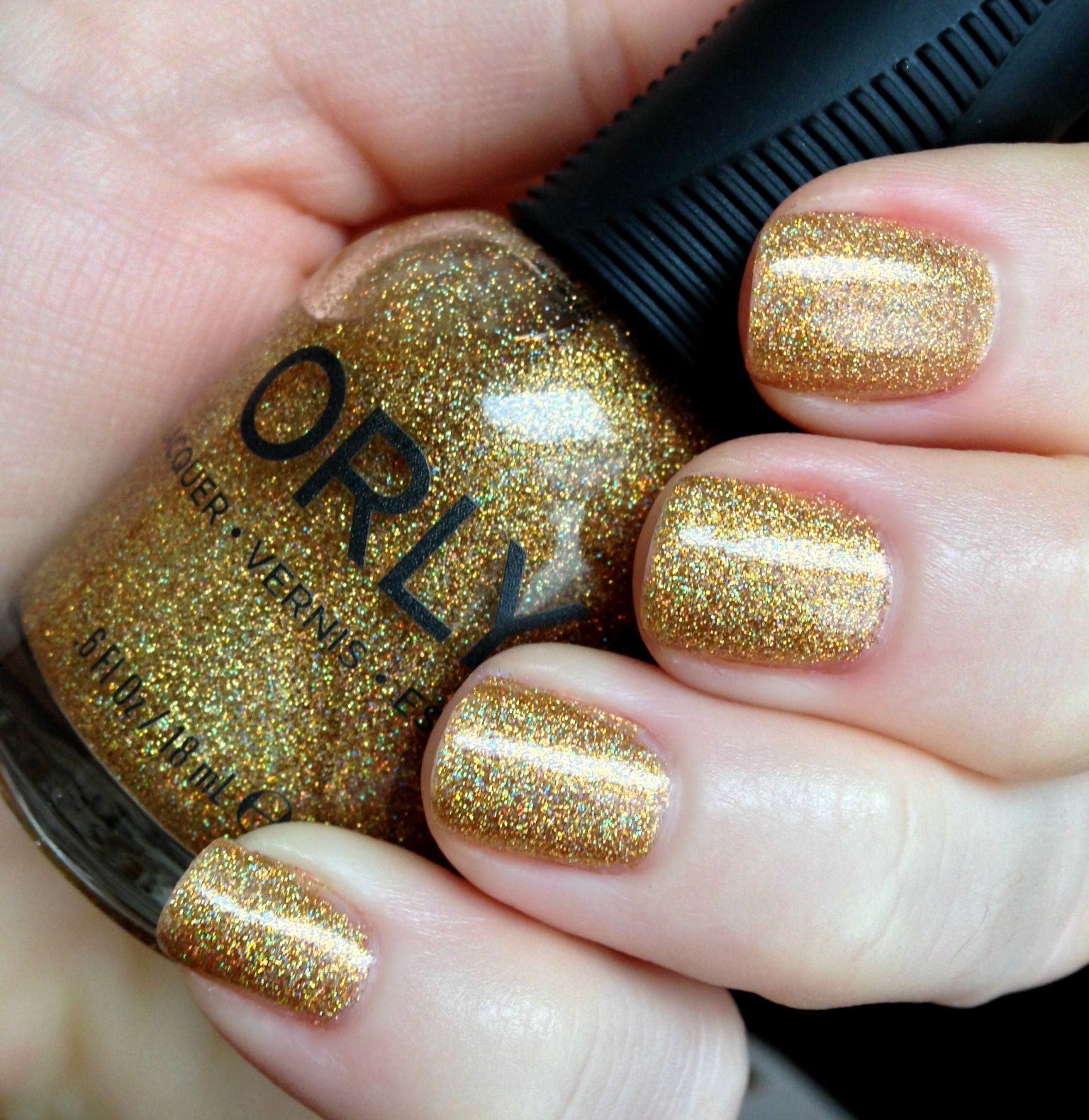 Orly\'s Bling Polish is Like Jewelry for Your Nails | Bling nails