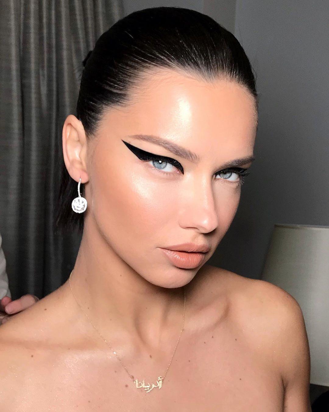 Pin on AL Adriana lima makeup, Online makeup, Eye makeup