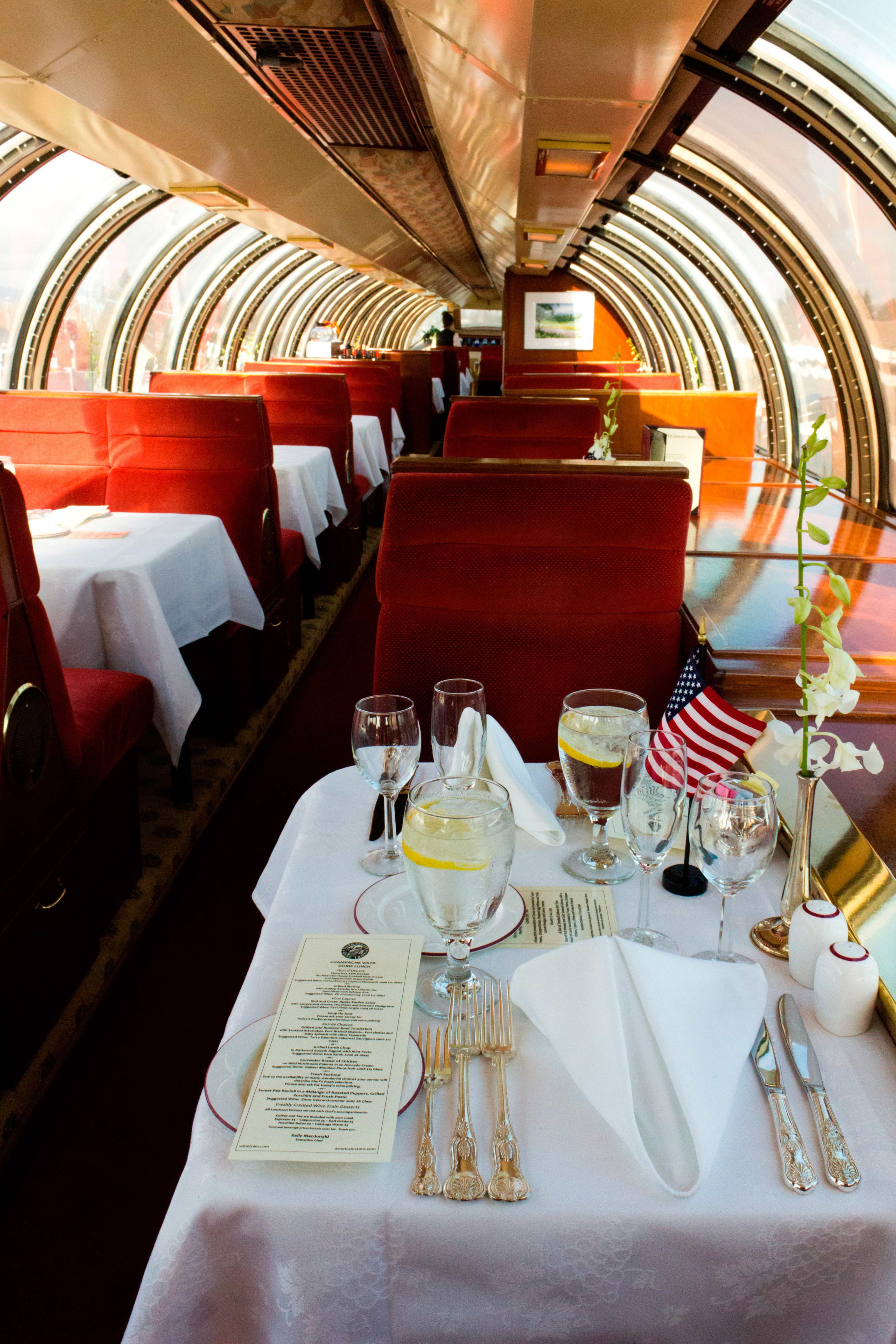 America S Best Restaurants In Historical Buildings Wine Train Napa Valley Wine Train Napa Valley Wine