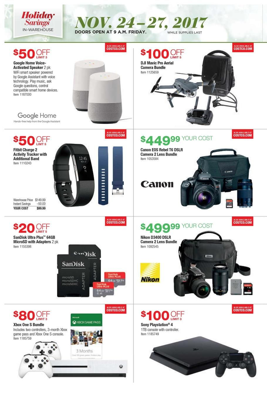 Costco Black Friday 2018 Ads And Deals Browse The Costco Black