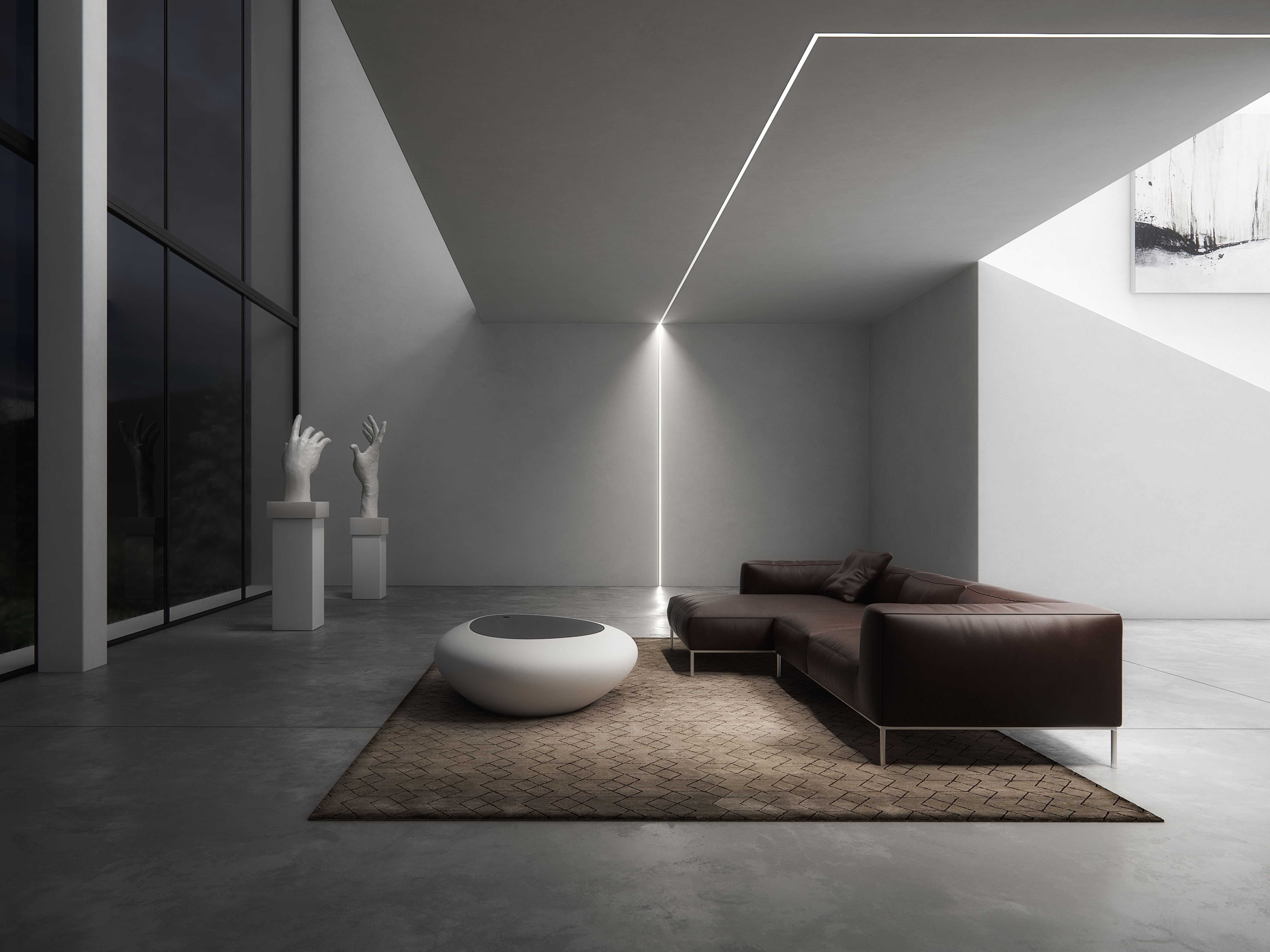 Ceiling Led Lighting For Living Room Profile Subli Lumines