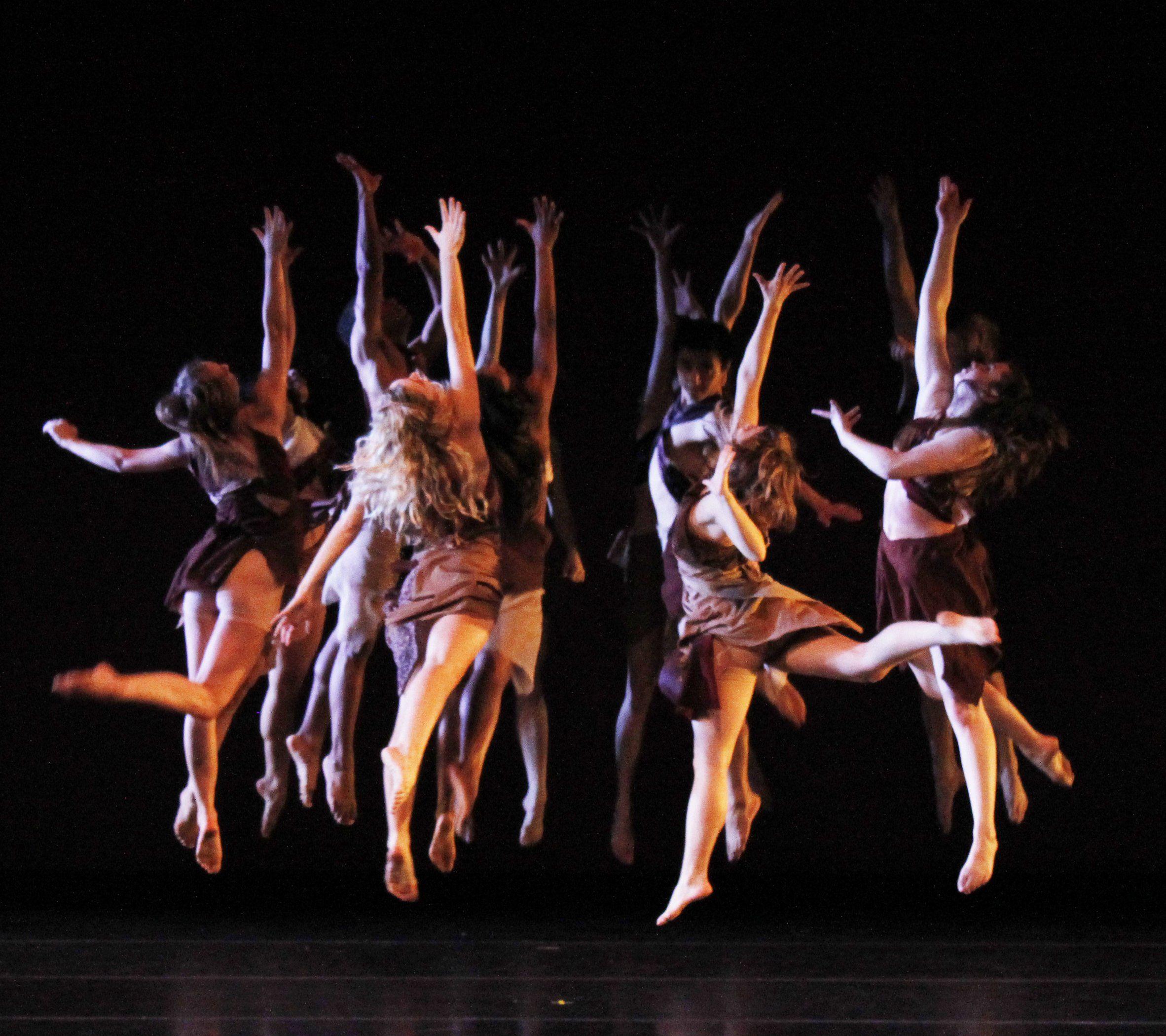 как фотографировать танцующих людей на сцене настоящее время это