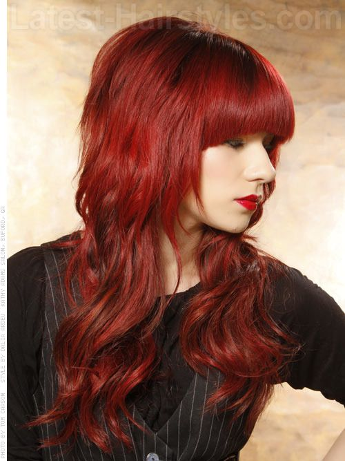 Outstanding Creative Hair Color Red Hair And Hair On Pinterest Hairstyle Inspiration Daily Dogsangcom
