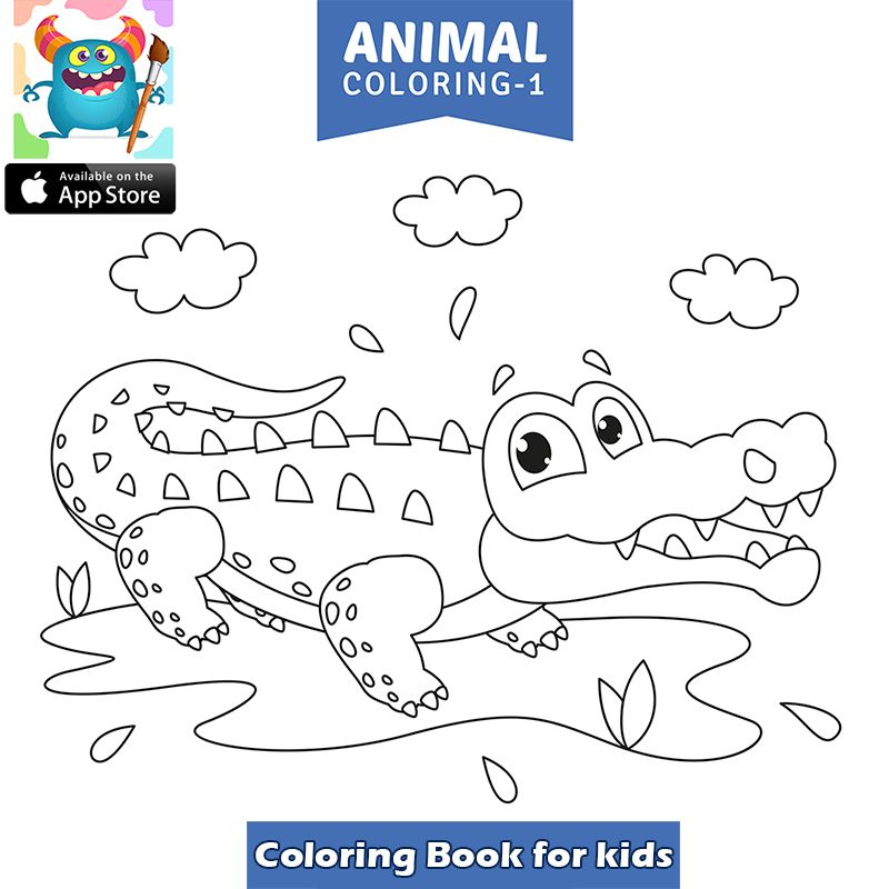 Arabic Coloring Page Kaf Is For Kalb Printable Alphabet