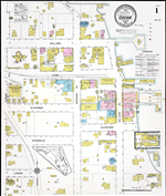 Insurance Maps Of Cocoa And Titusville Florida Map Aerial