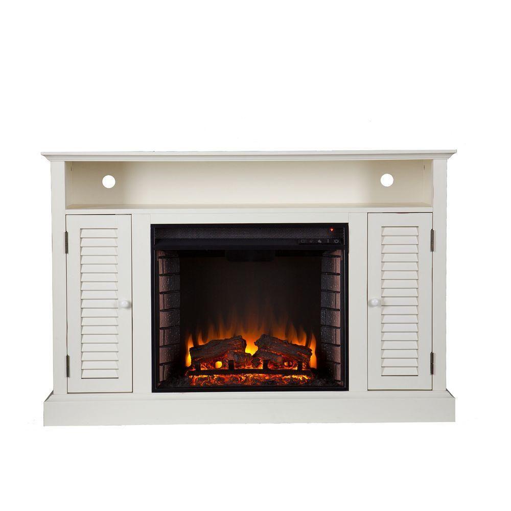 Pleasing Southern Enterprises Gabriella 48 In Freestanding Media Home Interior And Landscaping Ologienasavecom