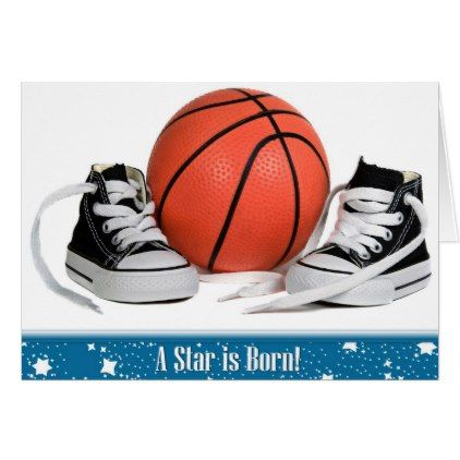 New baby boy basketball and sneakers card baby boy basketball baby boy basketball negle Choice Image