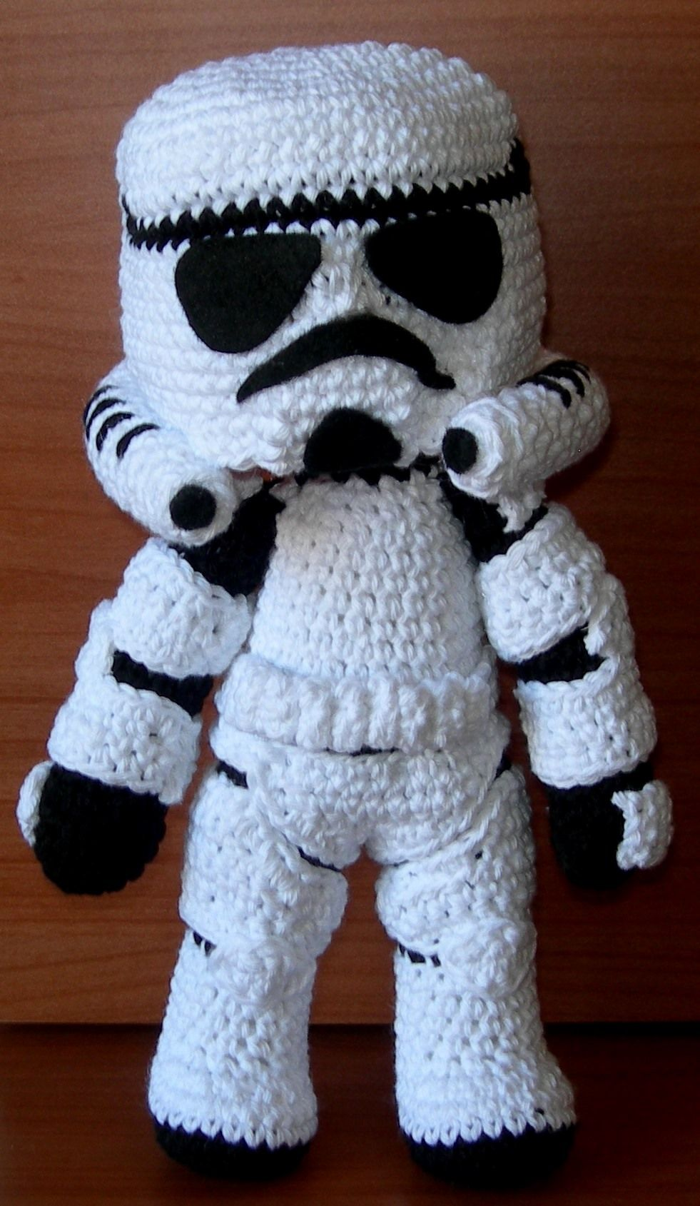 Stormtrooper amigurumi | mari | Pinterest | Patrones amigurumi ...