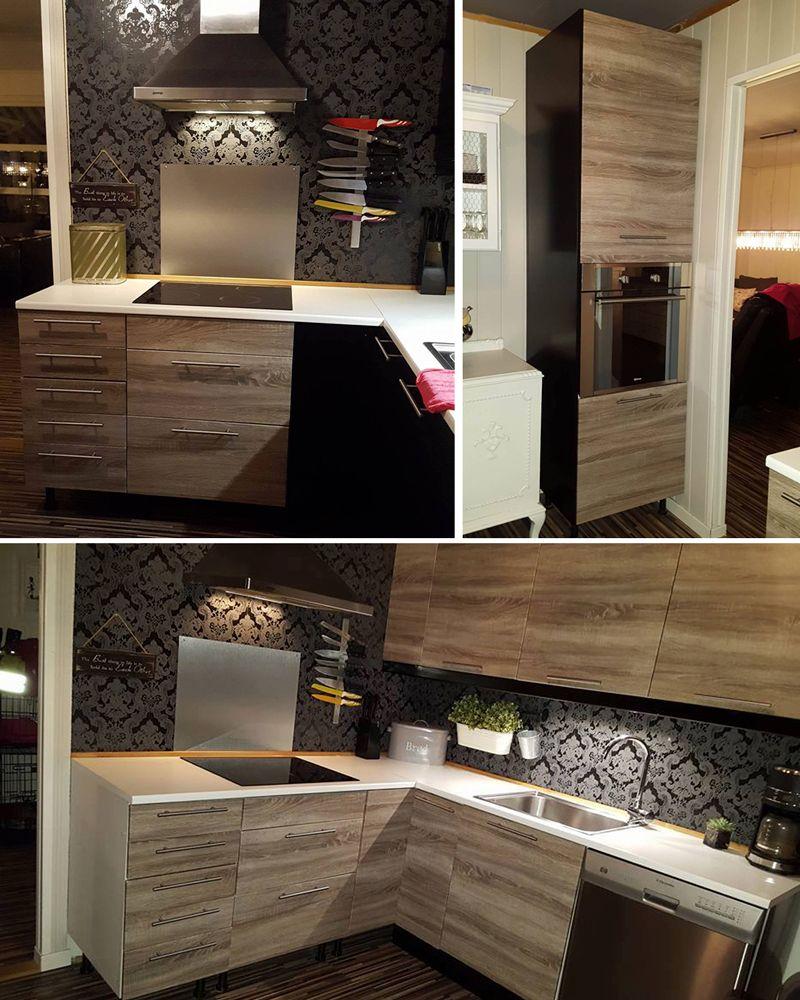 Kontaktplast oppgraderte dette kjøkkenet på et blunk! Se mer inspirasjon og tips på bloggen vår