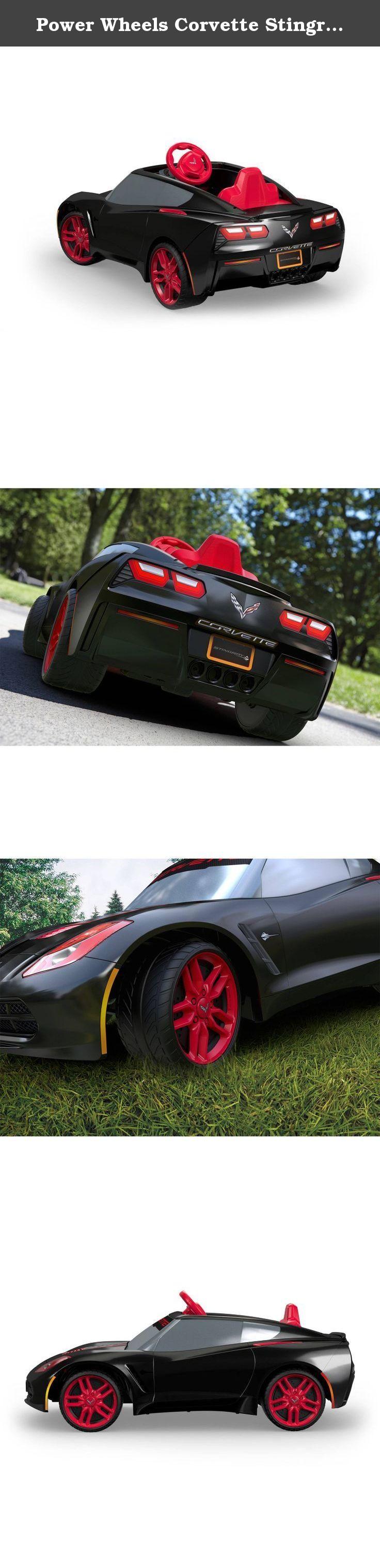 Power Wheels Corvette Stingray for kids rideon. This 6