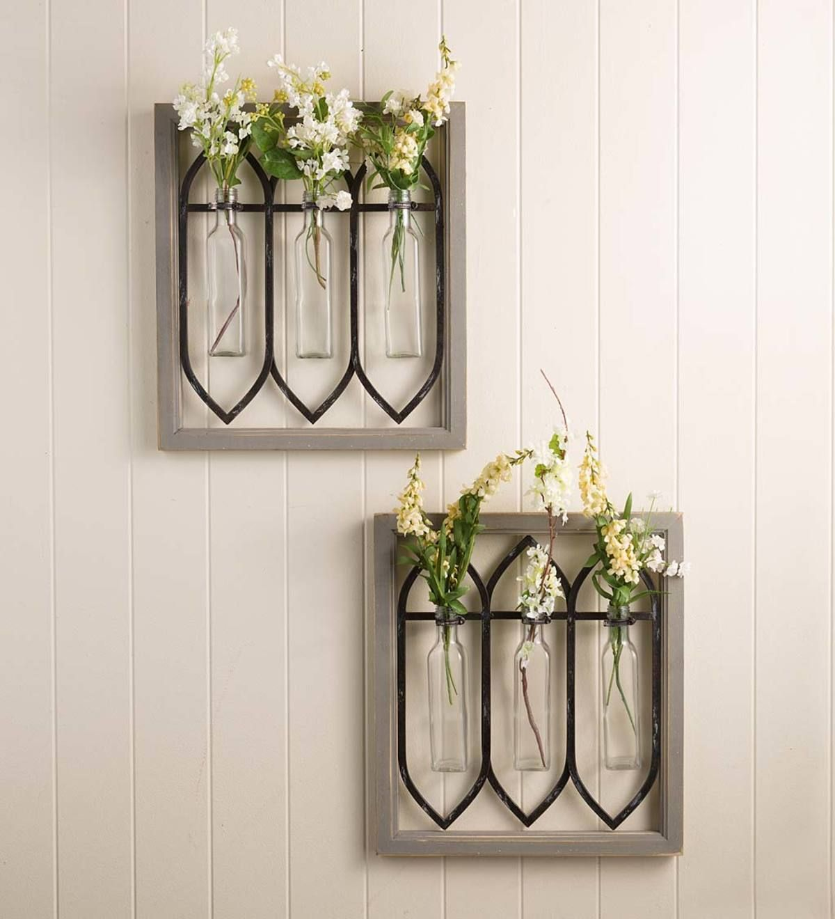 Easy Diy Metal Wall Vase Upcycle Farmhouse Style Life On