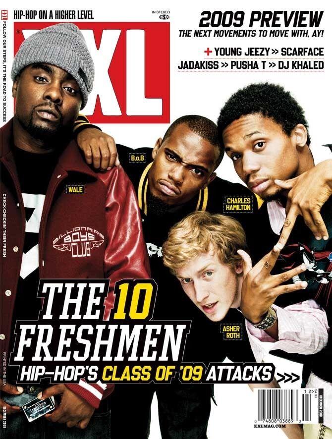 XXL Freshman Class of 2009: Wale, B o B, Asher Roth and Charles