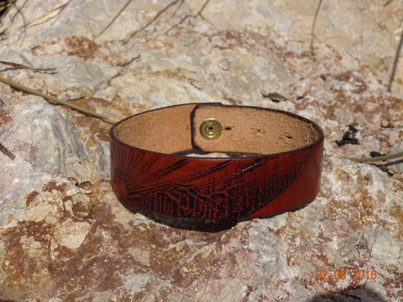 brown leather choker/womans/mens/unisex/sun by longshotleather