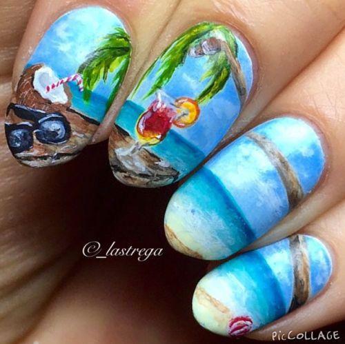 Beach Nail Art Designs - Beach Nail Art Designs Beach Nail Art Designs Pinterest
