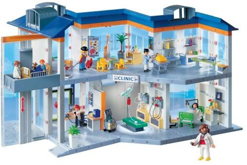 Playmobil Hospital And Health Related Toys Maison Playmobil