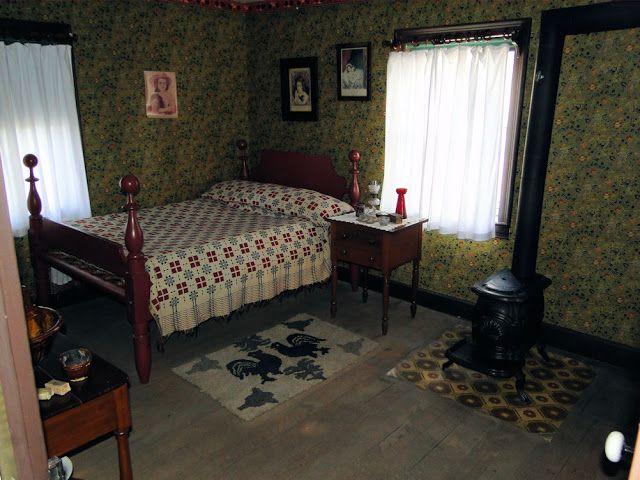 Small Box Room Cabin Bed For Grandma: Firestone Farm: Box Stove In