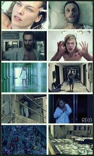TWD vs Resident Evil