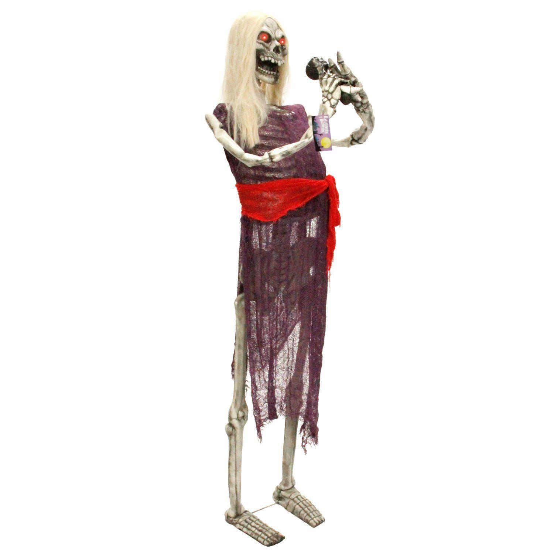 Halloween Haunters Life Size Standing Skeleton Zombie Man