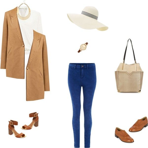 [ Casual Day ] by mlle3aaa on Polyvore featuring mode and Mandi
