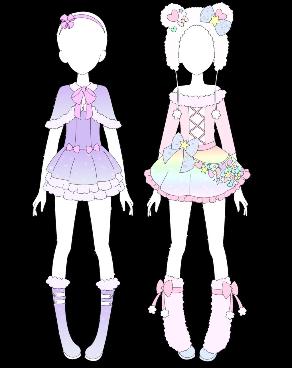 b40953728cfde MRA: Fairy Kei Winter Collection by VanillaChama.deviantart.com on @ DeviantArt