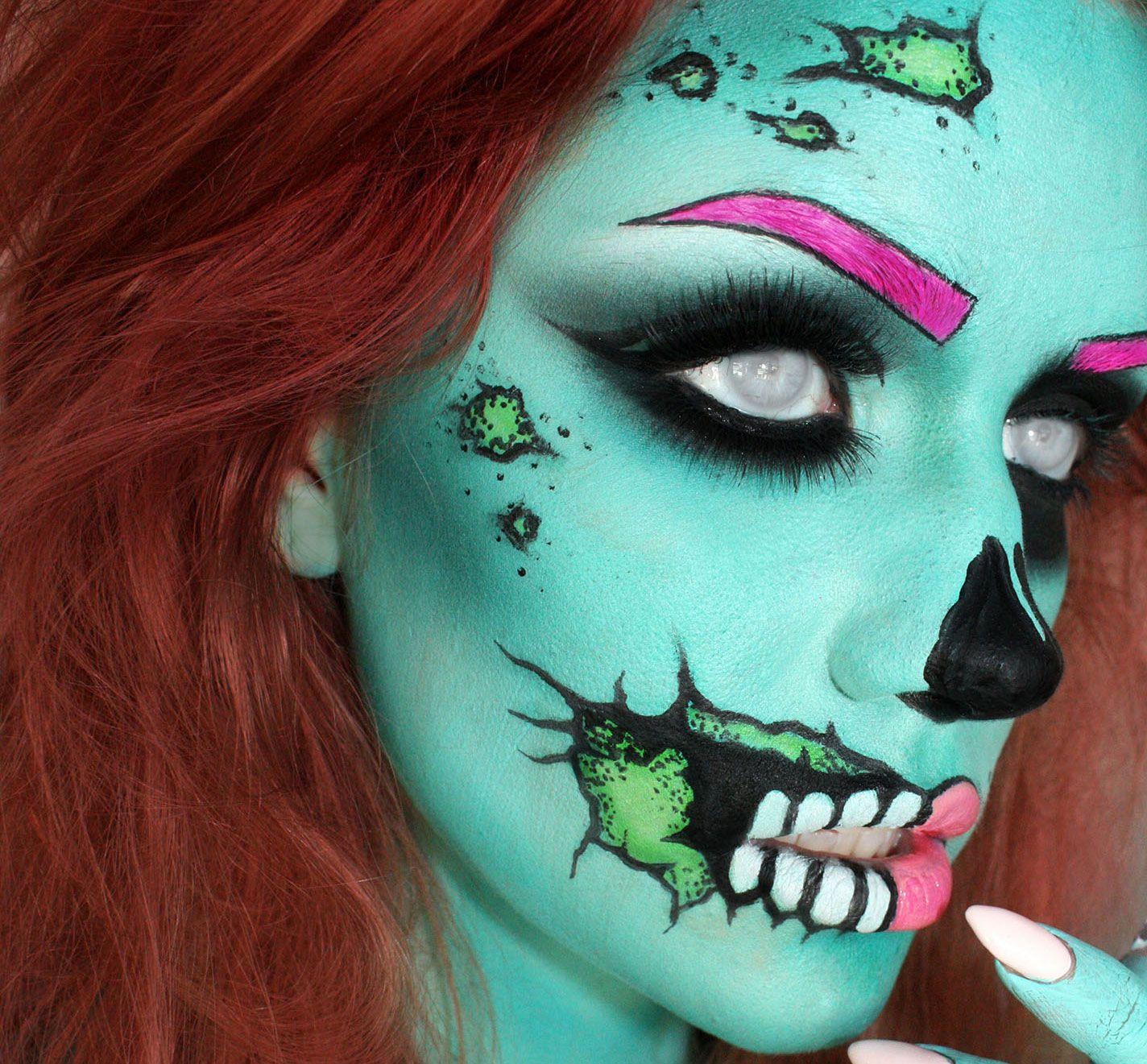 25 Mind-Blowing Halloween Makeup Looks pics