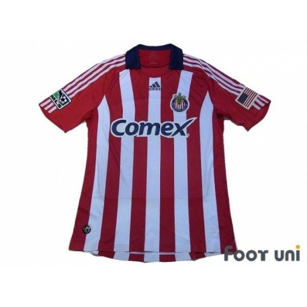 Photo1: CHIVAS USA 2008-2009 Home Shirt #adidas - Football Shirts,Soccer
