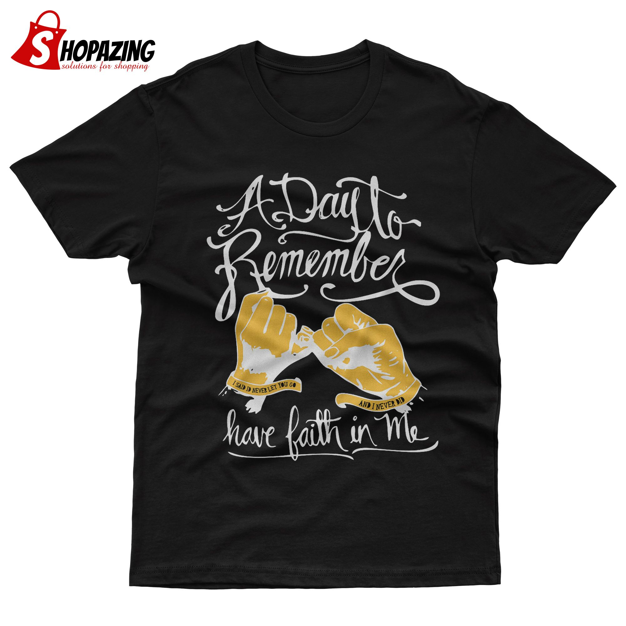 A Day To Remember Have Faith In Me New Mens Shirt Home Sick T