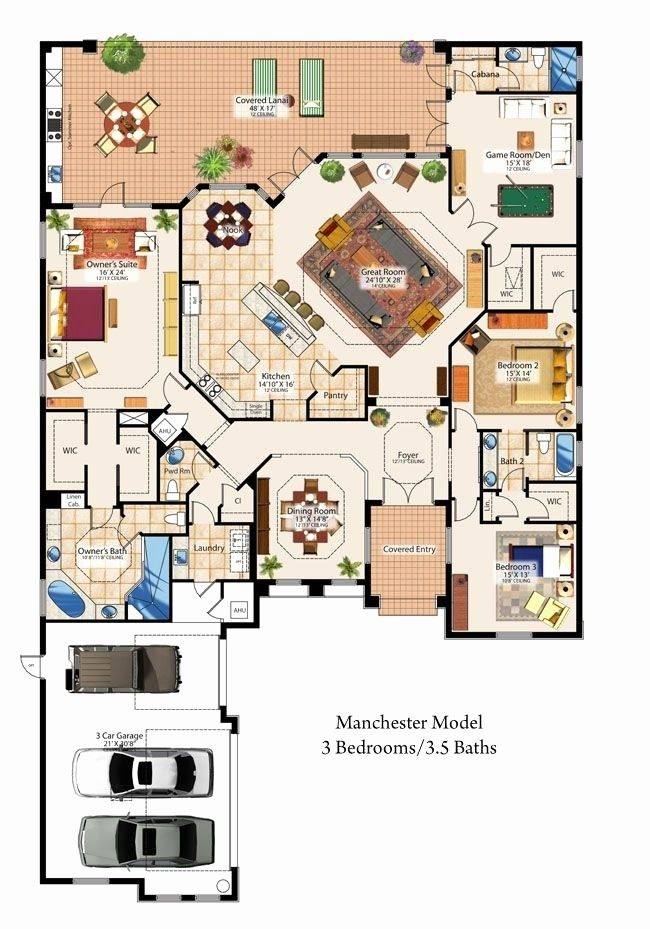 11 Elegant House Plans With Large Dining Rooms Mansion Floor Plan Sims 4 House Plans House Blueprints