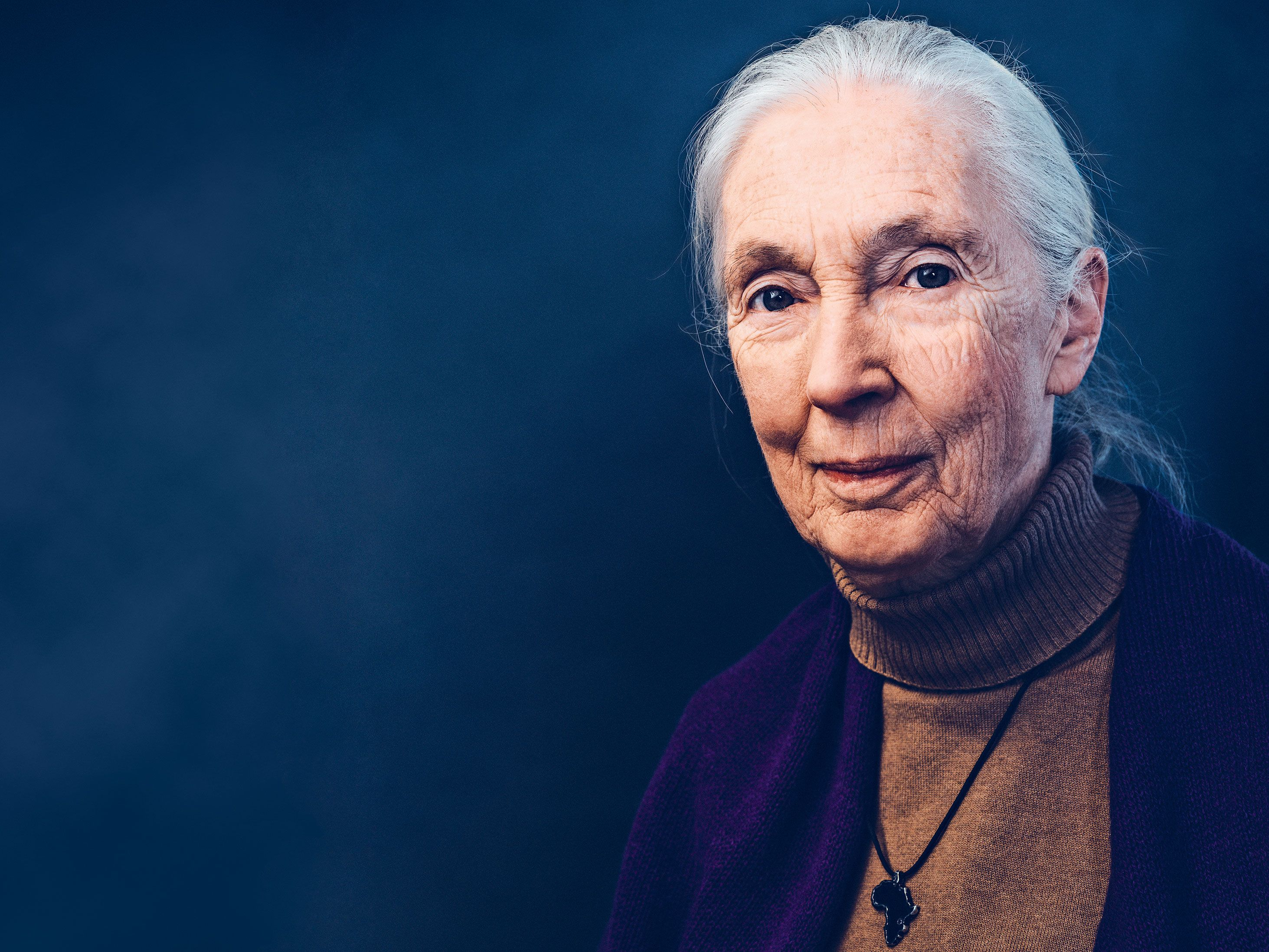 Famed conservationist Jane Goodall speaks with Reader's Digest about apes, aging and her legacy.