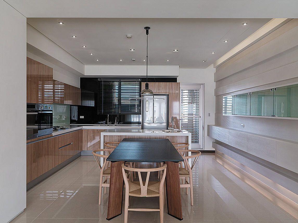 Plano y dise o de casa peque a interiores piscinas for Diseno de interiores cocinas pequenas