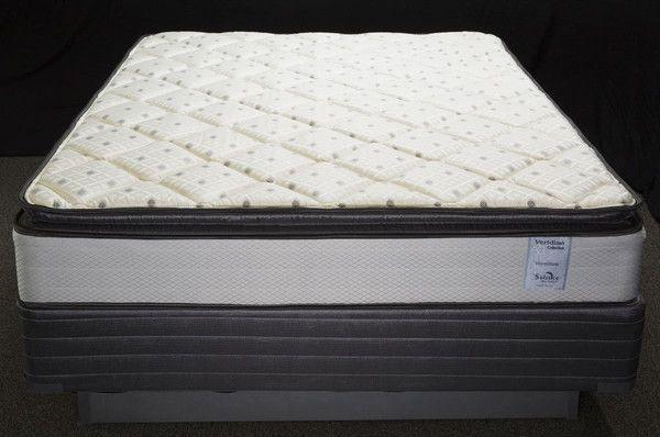 vermillion queen pillow top mattress set products pinterest