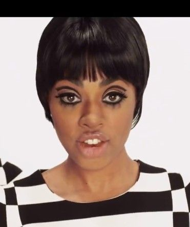 60s Makeup Janelle Monae Video With Images 60s Makeup