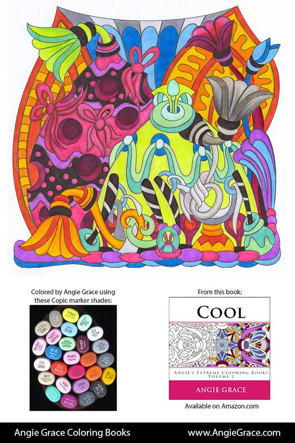 Angie S Color Palettes Cat Coloring Book Coloring Book Art Coloring Books
