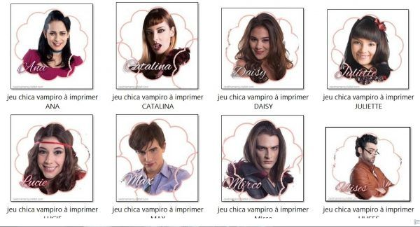 Coloriage En Ligne Gratuit Chica Vampiro.Kit Anniversaire Chica Vampiro Gratuit A Imprimer Chica Vampiro